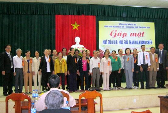 Lực lượng Hội Cựu giáo chức tỉnh Quảng Nam